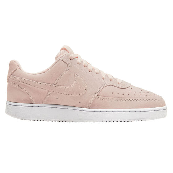 Nike Court Vision Low Womens Casual Shoes, Orange/White, rebel_hi-res