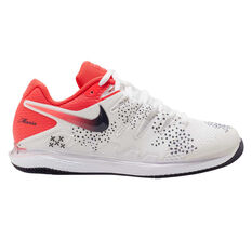 Nike Air Zoom Vapor X Womens Tennis Shoes White / Red US 7, White / Red, rebel_hi-res