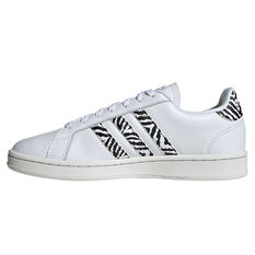 adidas Grand Court Womens Casual Shoes White US 6, White, rebel_hi-res