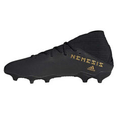 adidas Nemeziz 19.3 Football Boots Black US Mens 7 / Womens 8, Black, rebel_hi-res
