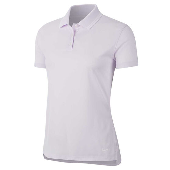 Nike Womens Dri FIT Victory Golf Polo, Purple, rebel_hi-res