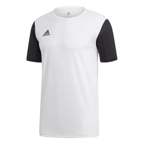 adidas Mens Estro 19 Football Jersey, White, rebel_hi-res