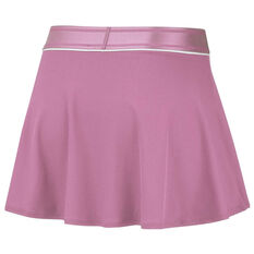 NikeCourt Womens Dri FIT Flouncy Tennis Skirt Pink XS, Pink, rebel_hi-res