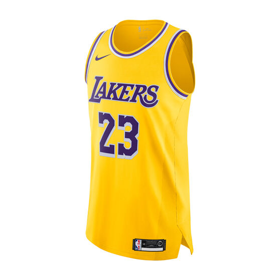 low priced 6ca12 a6bfb Nike Los Angeles Lakers LeBron James Mens Icon Edition Authentic Jersey