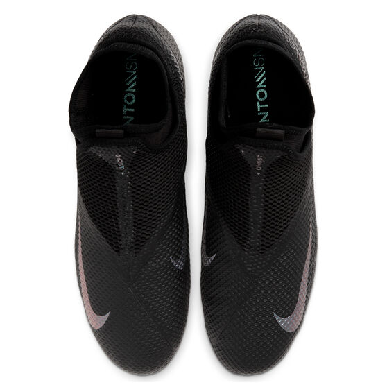 Nike Phantom Vision II Academy Football Boots, Black, rebel_hi-res