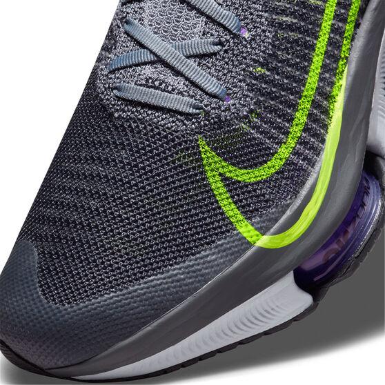 Nike Air Zoom Tempo Next% Mens Running Shoes, Grey/Volt, rebel_hi-res