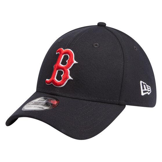 Boston Red Sox Logo New Era 39THIRTY Cap Black, Black, rebel_hi-res