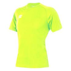 Umbro League Training Knit Jersey Fluoro Yellow XS YTH, , rebel_hi-res