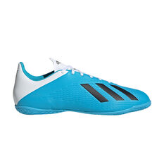 adidas X 19.4 Indoor Soccer Shoes Blue / Black US Mens 7 / Womens 8, Blue / Black, rebel_hi-res
