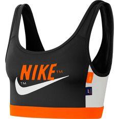 Nike Womens Icon Clash Sports Bra Black XS, Black, rebel_hi-res