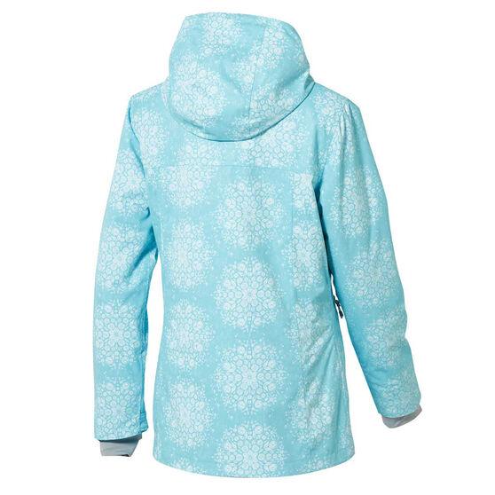 Rojo Womens Grace Ski Jacket, Blue, rebel_hi-res