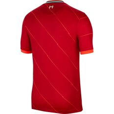 Liverpool FC 2021/22 Replica Mens Home Jersey Red S, Red, rebel_hi-res