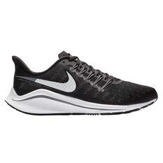 Nike Air Zoom Vomero 14 Mens Running Shoes Black / White US 7, Black / White, rebel_hi-res