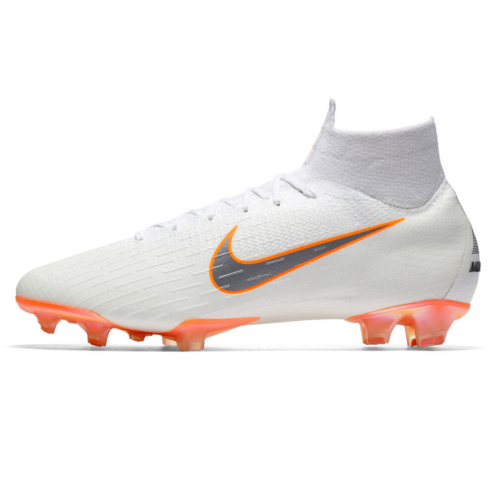 367cf031537 Nike Mercurial Superfly VI Elite Mens Football Boots White   Grey US ...