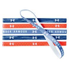 Under Armour Girls Graphic Headbands Blue / White OSFA, , rebel_hi-res