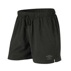 Umbro Mens 5in Staple Training Shorts Slate S, Slate, rebel_hi-res