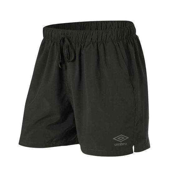 Umbro Mens 5in Staple Training Shorts, Slate, rebel_hi-res