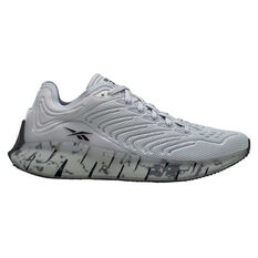 Reebok Zig Kinetica Casual Shoes Grey/Black US 4, Grey/Black, rebel_hi-res