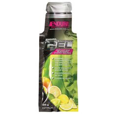 Endura Sports Energy Gel Sachet Citrus, , rebel_hi-res