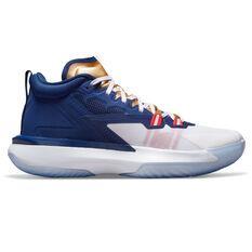 Jordan Zion 1 USA Basketball Shoes Blue US 7, Blue, rebel_hi-res