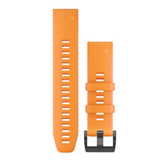 Garmin QuickFit 22mm Solar Flare Orange Adjustable Watch Band, , rebel_hi-res