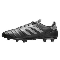 adidas Copa 18.3 FG Mens Football Boots Black / Black US 7 Adult, Black / Black, rebel_hi-res