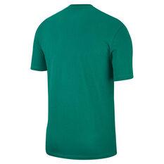 Nike Mens Sportswear HBR 3 Tee, Green / White, rebel_hi-res