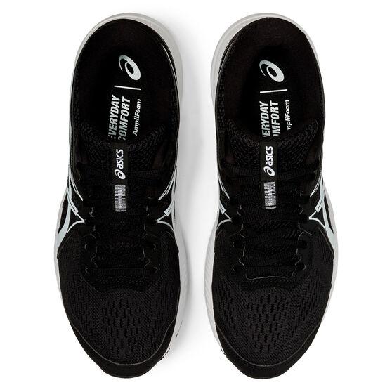 Asics GEL Contend 7 Mens Running Shoes, Black/White, rebel_hi-res