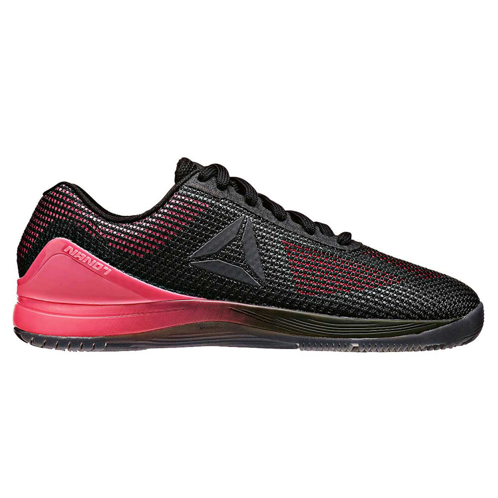 Reebok CrossFit Nano 7.0 Womens Training Shoes Pink   Black US 7 ... 12e532920