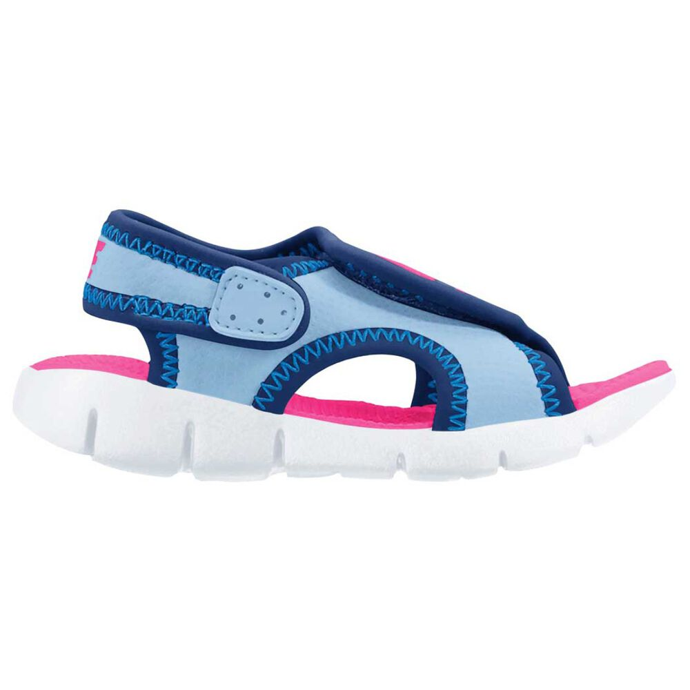Nike Sunray Adjust 4 Toddlers Sandals Blue   Pink US 3  167d5a6401