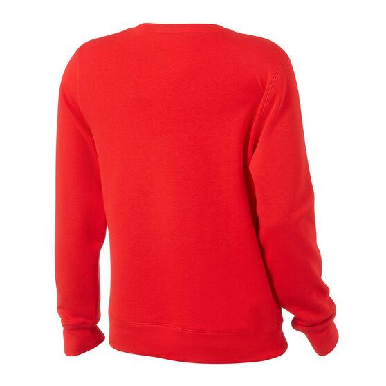 Champion Mens Script Sweatshirt, Red, rebel_hi-res