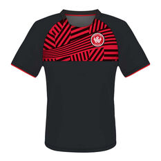 Western Sydney Wanderers Youth Supporter Training Tee Red 12, , rebel_hi-res