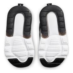 Nike Air Max 270 Toddlers Casual Shoes, Black/White, rebel_hi-res