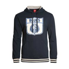 Carlton Blues Mens Retro Pullover Hoodie, , rebel_hi-res