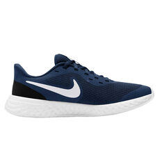 Nike Revolution 5 Kids Running Shoes Navy US 4, , rebel_hi-res