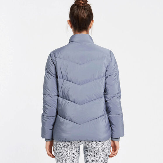 Nimble Womens Cloud Like II Puffer Jacket, Blue, rebel_hi-res