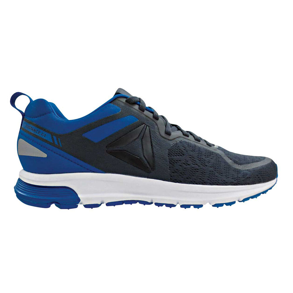 def185a0e64e1f Reebok One Distance 2.0 Mens Running Shoes Grey   Blue US 8.5 ...