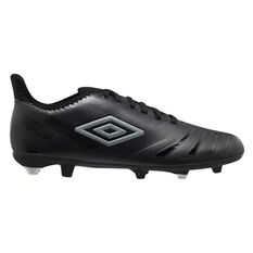 Umbro UX Accuro III Club Kids Football Boots Black US 11, Black, rebel_hi-res