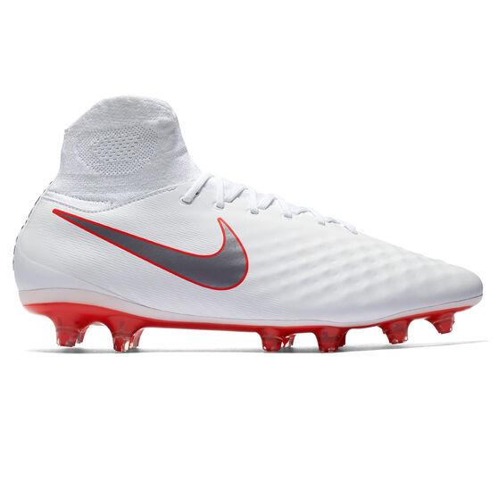 926dd28e4 Nike Magista Obra II Pro Dynamic Fit Mens Football Boots White / Grey US 7,