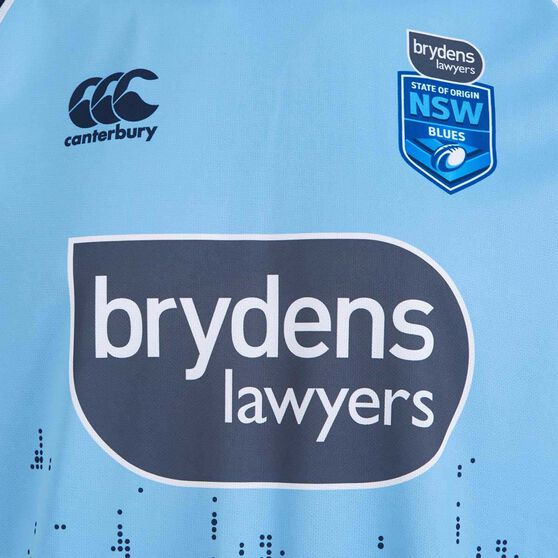 NSW State of Origin Mens Training Tee, Blue, rebel_hi-res