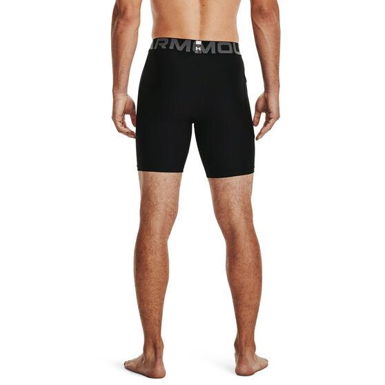 Under Armour Mens HeatGear Armour Shorts, Black, rebel_hi-res