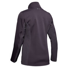 Under Armour Womens ColdGear Infrared Shield Jacket, Purple, rebel_hi-res