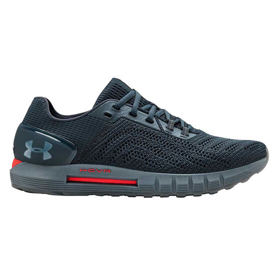 Under Armour HOVR Sonic 2 Mens Running Shoes, Blue / Grey, rebel_hi-res