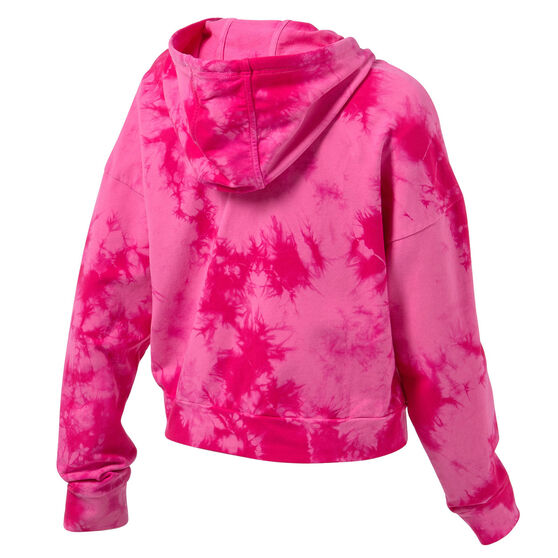 Running Bare Womens Lounging Pullover Hoodie, Pink, rebel_hi-res