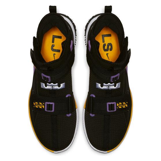 Nike LeBron Soldier XIII SFG Mens Basketball Shoes, Black / Multi, rebel_hi-res