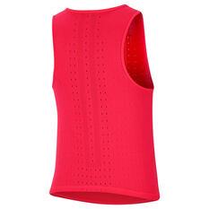 Nike Womens AeroSwift Tank Red XS, Red, rebel_hi-res