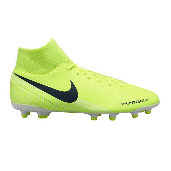 Nike Phantom Vision Club Dynamic Fit Football Boots, Green / White, rebel_hi-res