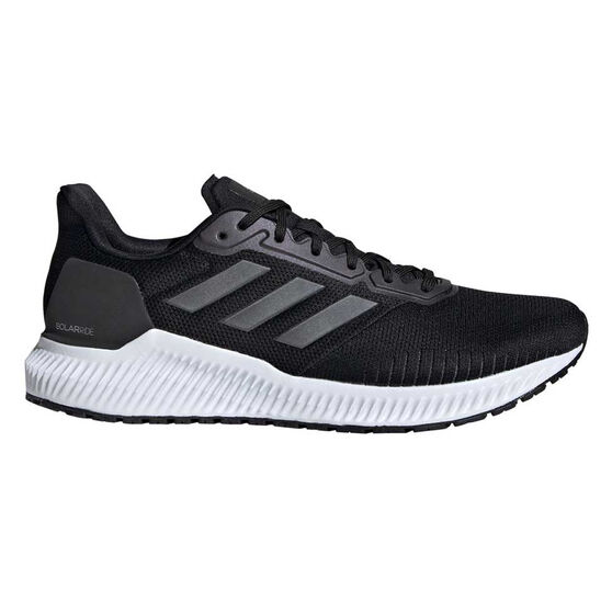 adidas Solar Ride Mens Running Shoes, Black / Navy, rebel_hi-res