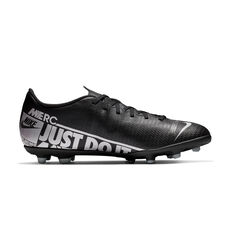 Nike Mercurial Vapor XIII Club Football Boots Black / Grey US Mens 7 / Womens 8.5, Black / Grey, rebel_hi-res