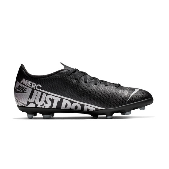 Nike Mercurial Vapor XIII Club Football Boots, Black / Grey, rebel_hi-res